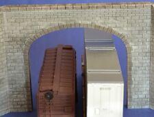 HO04 HO Cut Stone Double Tunnel Portal Produits MP Entrée de Tunnel