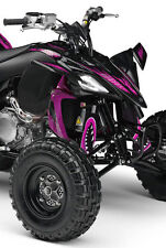 ATV,SHOCK COVER,PROTECTEUR D'AMORTISSEUR,VTT,YAMAHA,SUZUKI,SET DE 3,MONSTER PINK