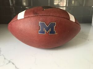 michigan Wolverines Game Used Football Game Worn Jersey