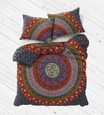 King Size Mandala Hippie Gypsy Indian Purple Quilt Duvet Cover Bedding Set