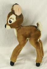"Vintage 1960s 14"" Bambi Stuffed Animal Plush WALT DISNEY WORLD Disneyland (HH)"