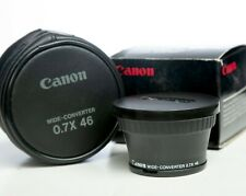 Canon  WD-46 Wide Angle Converter Lens