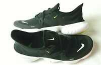 Nike Free RN 5.0 Mens Running Training shoes Black White Volt Green AQ1289 003
