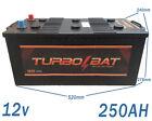 Baterías 250AH 12V Fotovoltaica Baterias Monoblock acido plomo