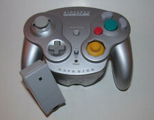 Nintendo Gamecube Wavebird Wireless Remote Controller w/ RECEIVER - Platinum