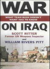 War on Iraq By William Pitt Rivers