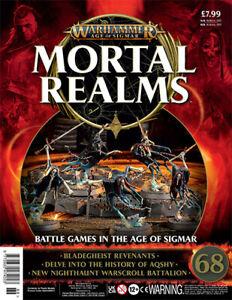 Warhammer Age Of Sigmar Mortal Realms 68 with 5 x Bladegheist Revenants