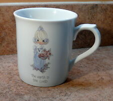 "Vintage Precious Moments Coffee Mug ""The Earth Is The Lord'S"""
