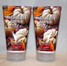 Bath & Body Works Marshmallow Pumpkin Latte Shea & Sugar Body Scrub X 2