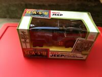 "Tristar International MASH 3 3/4"" Action Figure Jeep with Hawkeye NOS MIB"