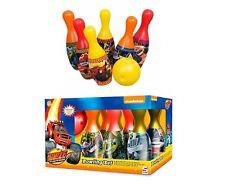 Blaze e il mostro macchine Kids piste da gioco palla da Bowling Pin Playset Regalo