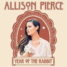 ALLISON PIERCE YEAR OF THE RABBIT CD ALBUM (Released May 5th 2017)