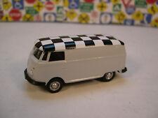 GRAY VW PANEL VAN CHECKER BOARD TOP GREENLIGHT 1:64 SCALE DIECAST METAL MODEL