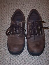 Men's Brown Leather Shoes, Size 8M, I.D. Required brand, ERIC model