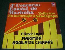 4 Concurso Estatal de Marimba~Aguila de Chiapas~1987 Sonosur LPE-60~FAST SHIP!