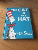 The Cat In The Hat ~ Dr Seuss 1st UK Edition 1st Print, Hardback 1958
