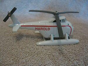 """Ertl 4.5"""" HAROLD Helicopter THOMAS TANK ENGINE Diecast Toy Vintage 1991 Britt"""