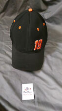 Carl Edwards JGR   19 Black Hat Cap Chase Authentics LG - XL Fitted Pit Cap fcec1fe08278