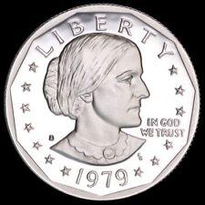 GEM BRILLIANT UNC 1980-P SUSAN B ANTHONY DOLLAR~FR//SHI