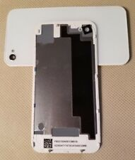 NEW Battery Cover Back Door Glass Rear Case for iPhone 4S A1387 A1431 - WHITE