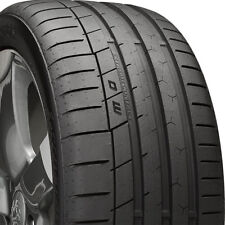 1 NEW 285/35-20 CONTINENTAL EXTREME CONTACT SPORT 35R R20 TIRE 33527