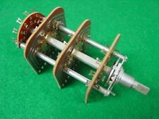 CENTRALAB 5 POSITION, 4 POLE ROTARY WAFER SWITCH FOR HH SCOTT (R3043)