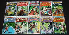 VINTAGE DC BRONZE ADVENTURE COMICS SPECTRE LOT 10pc #431-440 COMPLETE 7.5-9.0