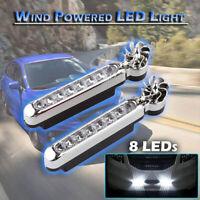 2x 8 LED DRL Feux de jour Avant Phare Diurne Eclairage Voiture Blanc Xenon