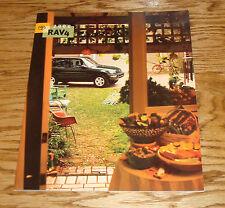 Original 2000 Toyota RAV4 Sales Brochure 00