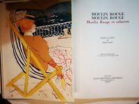 Livre LAUTREC RAFFAELE CARRIERI.  MOULIN ROUGE. 17 big tables. Edition limited