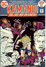 Kamandi #8 (1971; vf- 7.5) Jack Kirby. Guides at $17.00 (£11.50)