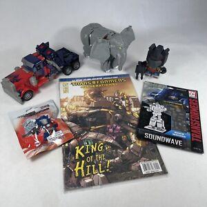 Transformers Mixed Figure & Comic #9 Bundle Set Elephant 3D Model Optimus Prime