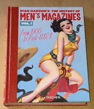 Dian Hanson's The History Of Men's Magazines Volume 1 2004 Signed Hardcover Book