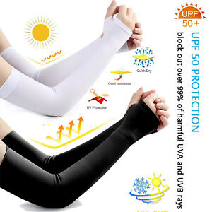 Prefect for Golf Cycling Driving UV Protection Unisex Sun Sleeves to Cover Arms