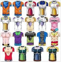 Saiyan Goku 3D Cartoon Tops Short Sleeve T-shirt Jersey Dragon Ball Blouses L79
