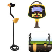 MD-3010II Metal Detector for Gold Digger Hunter Deep Sensitive Finds LCD Display