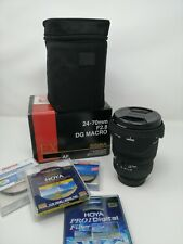 ¡Oportunidad única! Objetivo Sigma 24-70mm F2.8 DG Macro 82mm para cámara Nikon