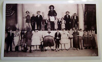 XL Format HiQ Poster:1924 Barnum Bailey Circus Congress of Freaks 36x22 Sideshow