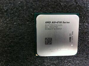AMD A10-6700 3.70GHz Quad-Core CPU Processor AD6700OKA44HL Socket FM2 - CPU36