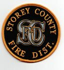 STOREY COUNTY FIRE DISTRICT DEPARTMENT NEVADA NV NEW PATCH POLICE SHERIFF
