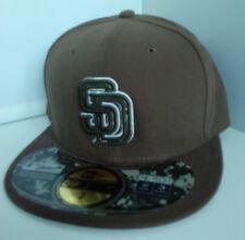 Casquette baseball San Diego  marron Taille 7 flexi fit