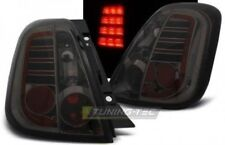Coppia set Fari Fanali Posteriori Tuning FIAT 500 2007 > 2015 Fume' LED no error