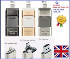 USB i Flash Drive OTG Device Memory Stick For iPhone iPad Android 64/128/256gb