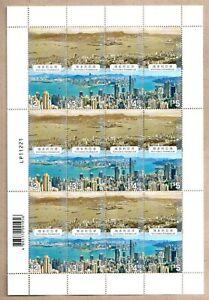 China Hong Kong 2020 Past & Present Victoria Harbour Se-tenant Stamps Full Sheet