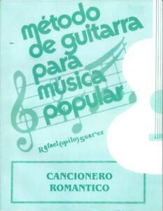 Cancionero Romántico para Guitarra Popular (Pilo Suárez)