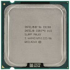 Intel Core 2 Duo E8200 6M, 2.66 GHz, 1333 MHz, SLGTE LGA 775 CPU Processor