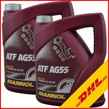 2x 4 Liter MANNOL AG55 Automatik Getriebeöl/ ATF Öl/ für ZF 6 HP