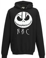A Nightmare Before Christmas, Jack Skellington, Black Hoody, Halloween Hoodie