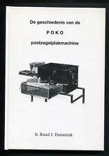 De geschiedenis van de POKO postzegelplakmachine - Hammink