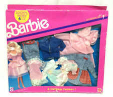 "Barbie Mattel 6 Complete Fashion Gift Set Vintage '90 11"" Doll Clothes Accessory"